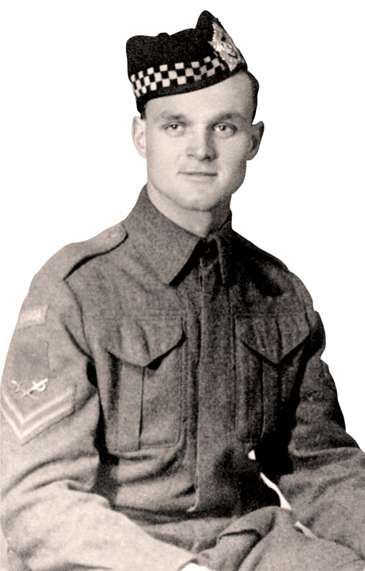 Sergeant Aubrey Cosens, VC [PHOTO: LIBRARY AND ARCHIVES CANADA—PA166764]