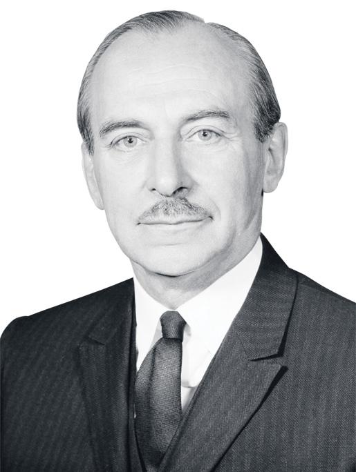 Defence Minister Douglas Harkness. [PHOTO: LEGION MAGAZINE ARCHIVES]