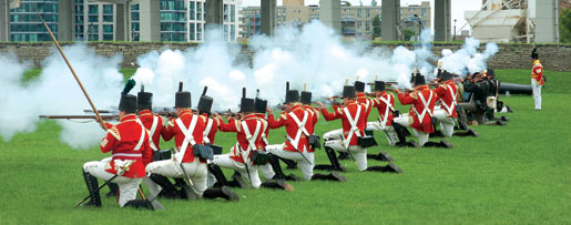 Fort York, Toronto. [PHOTO: KATHY MILLS]