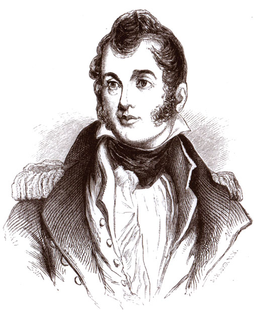 Master Commandant Oliver Perry [ILLUSTRATION: JOHN WILLIAM ORR, LIBRARY AND ARCHIVES CANADA—E010966128]
