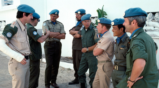 United Nations Interim Force in Lebanon. [PHOTO: UNITED NATIONS 123370]