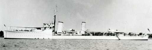 HMCS Champlain [PHOTO: LIBRARY AND ARCHIVES CANADA—PA126719]