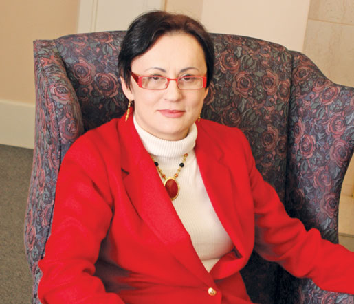 Dr. Ibolja Cernak. [PHOTO: Sharon Adams]