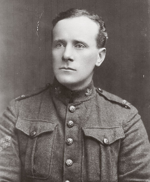 Portrait of Corporal Thomas Gillan.