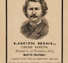 Louis Riel [ILLUSTRATION: LIBRARY AND ARCHIVES CANADA—e010973456]