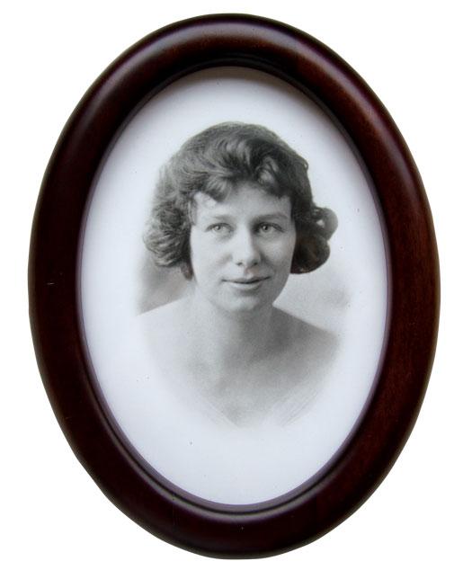 Venita Bennett married Clarence in 1919. [PHOTO: COURTESY ROBERT BLACK]