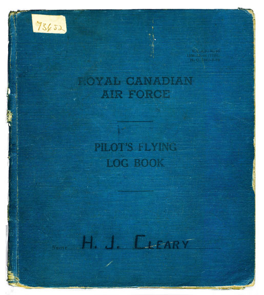 Henry Cleary's logbook.