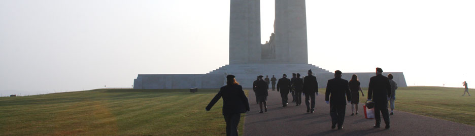 The Royal Canadian Legion 2013 Pilgrimage of Remembrance: The Pilgrims' Watch