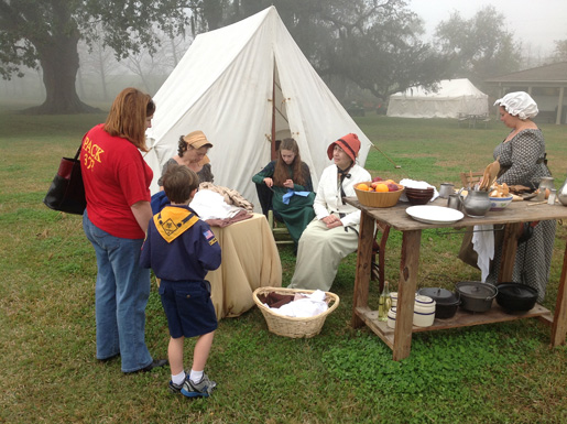 Jean Lafitte National Historic Park-Chalmette Battlefield. [PHOTO: NATIONAL PARK SERVICE]