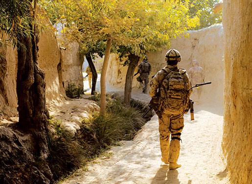 PPCLI in Panjwaii, Kandahar Province, 2009. [PHOTO: ADAM DAY]