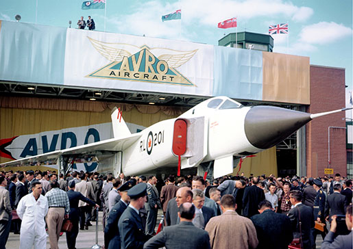 Avro Arrow [PHOTO: CF PHOTO]