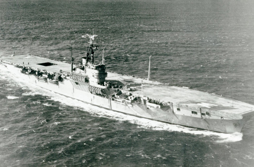 HMCS Warrior [PHOTO: LEGION MAGAZINE ARCHIVES]