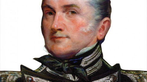 Lieutenant-Colonel Robert McDouall [ILLUSTRATION: SHARIF TARABAY]