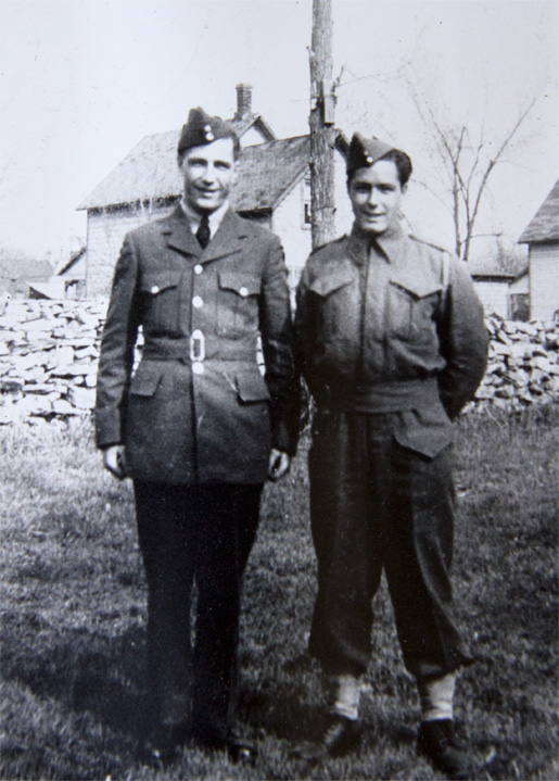John (left) and Russell True.