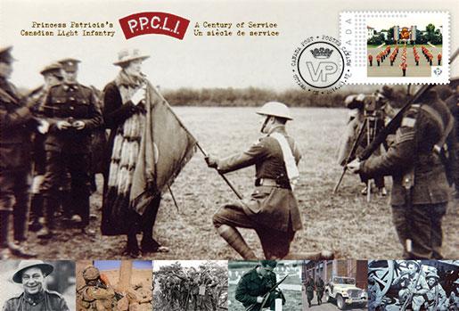 A commemorative envelope features  a photo of Princess Patricia. [ILLUSTRATION: CANADA POST CORPORATION]