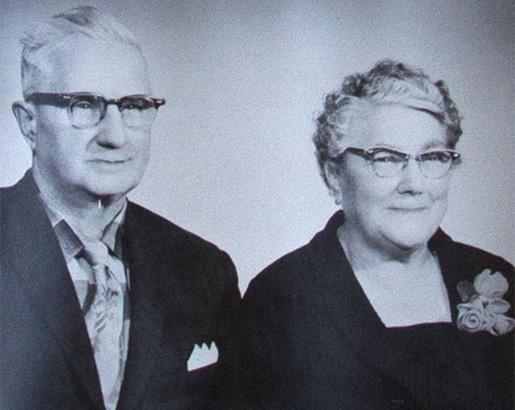 Henry and Bertha True