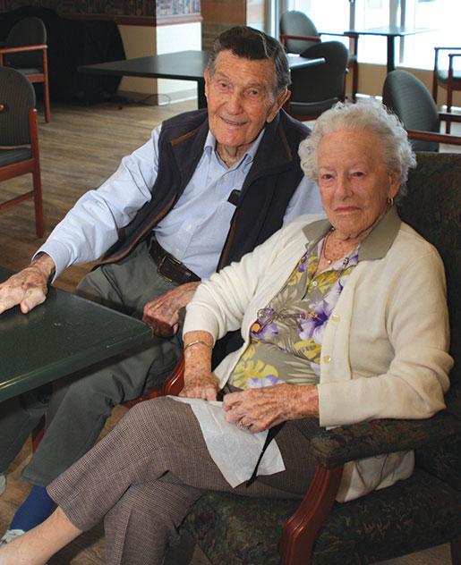 Jack and Norma Watts. [PHOTO: SHARON ADAMS]