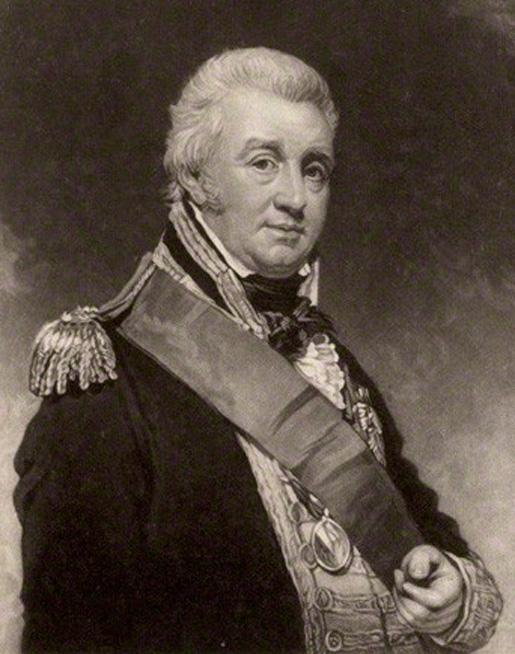 Vice-Admiral Alexander Cochrane [ILLUSTRATION: WIKIPEDIA]