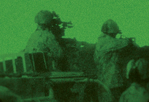 Canadian Special Operations Regiment during night operations in Afghanistan. [PHOTO: DEPARTMENT OF NATIONAL DEFENCE]
