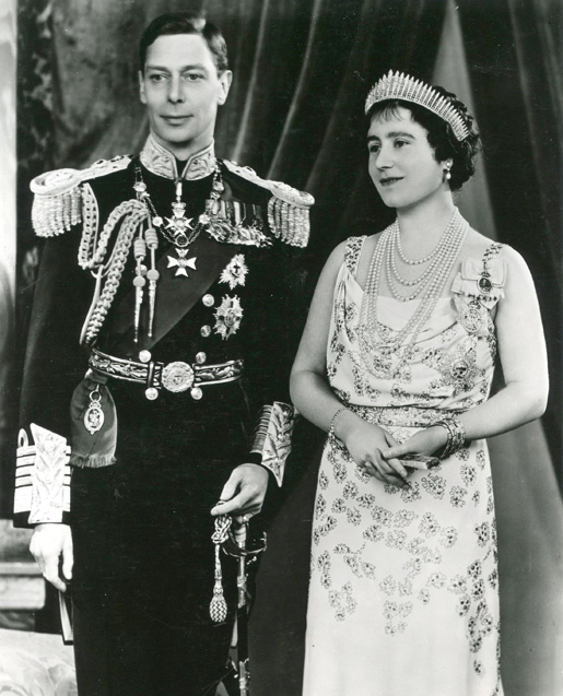 King George VI and Queen Elizabeth in the late 1930s. [PHOTO: LEGION MAGAZINE ARCHIVES]