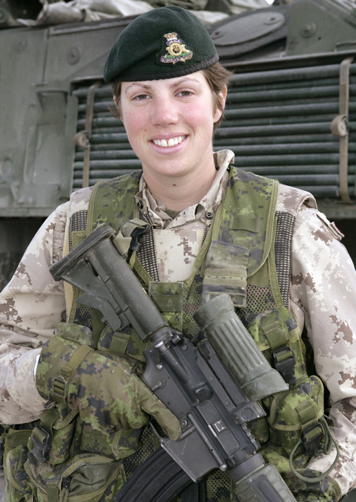 Captain Nichola Goddard [PHOTO: CANADIAN FORCES IMAGERY GALLERY]