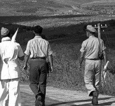 U.N. Truce Observers in Palestine. [PHOTO: UNITED NATIONS—349796]