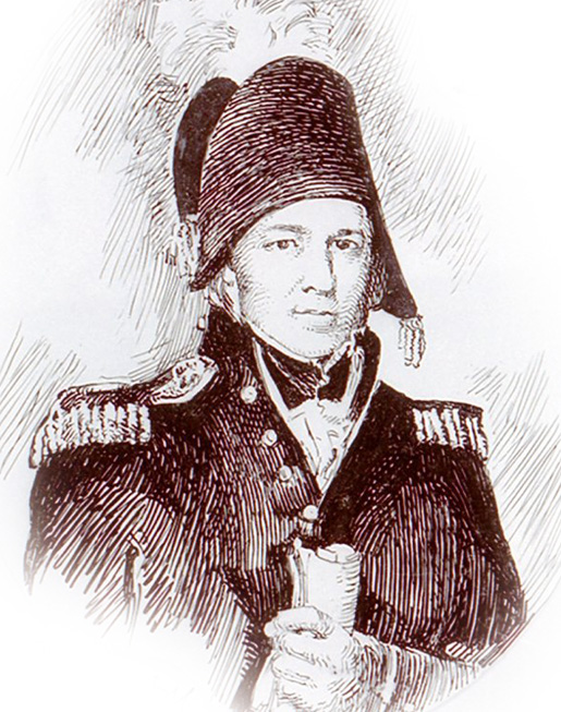 Major-General Jacob Brown [ILLUSTRATION: LIBRARY AND ARCHIVES CANADA—C073581]