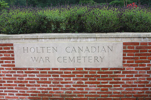 Holten Canadian War Cemetery. [PHOTO: SHARON ADAMS, LEGION MAGAZINE ARCHIVES]