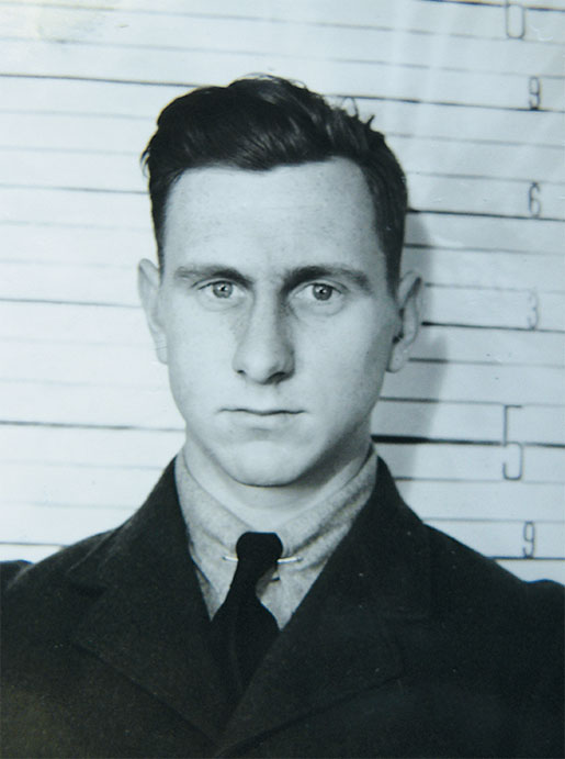 Pilot Officer Ross Vaughan  of Toronto. [PHOTO: LIBRARY AND ARCHIVES CANADA—E011084112; CoURTESY HUGH A. HALLIDAY]