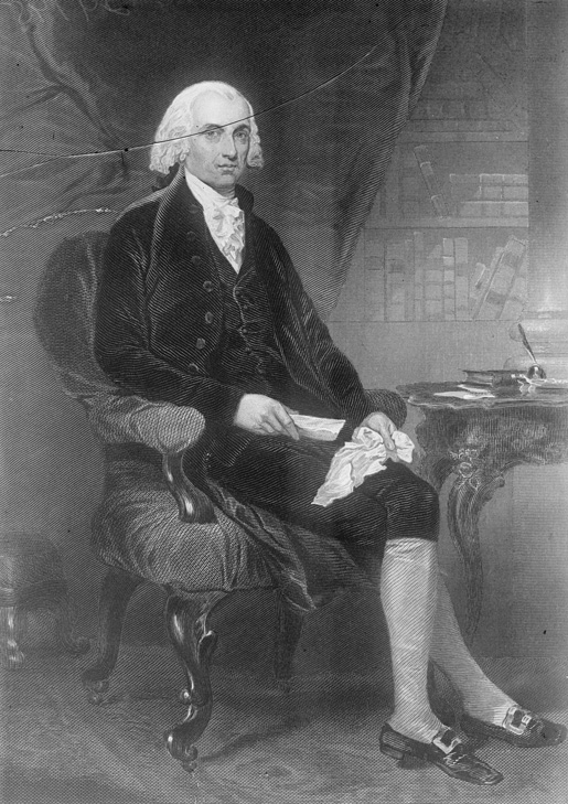 President Madison [ILLUSTRATION: LIBRARY OF CONGRESS]