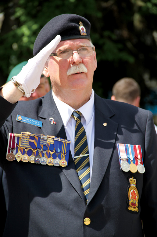 President-elect Tom Eagles [PHOTO: LEGION MAGAZINE]