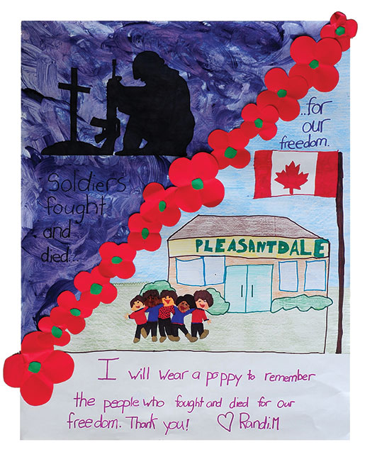 [Primary Posters First Place Colour: Randi Milbrandt of Estevan, Sask.]
