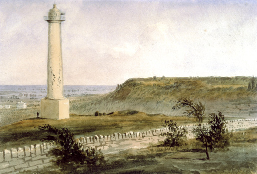 Brock Monument [ILLUSTRATION: LIBRARY AND ARCHIVES CANADA—C011799]