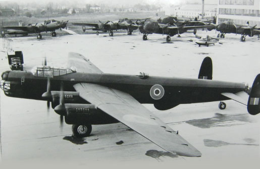 An Avro Lincoln, as it would have been flown by Tiger Force. [PHOTO: COURTESY HUGH A. HALLIDAY]