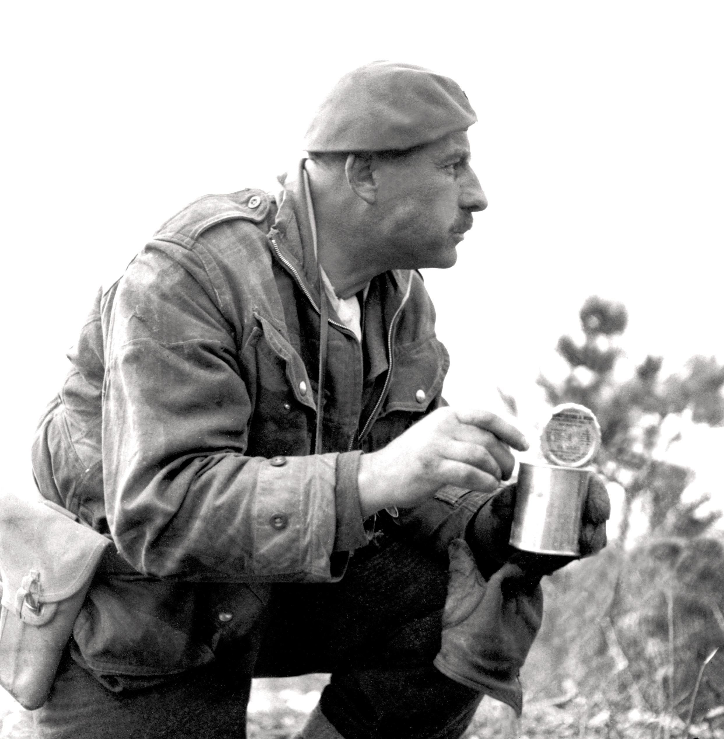 Historic Korean War Photo – Lieutenant-Colonel Jim Stone