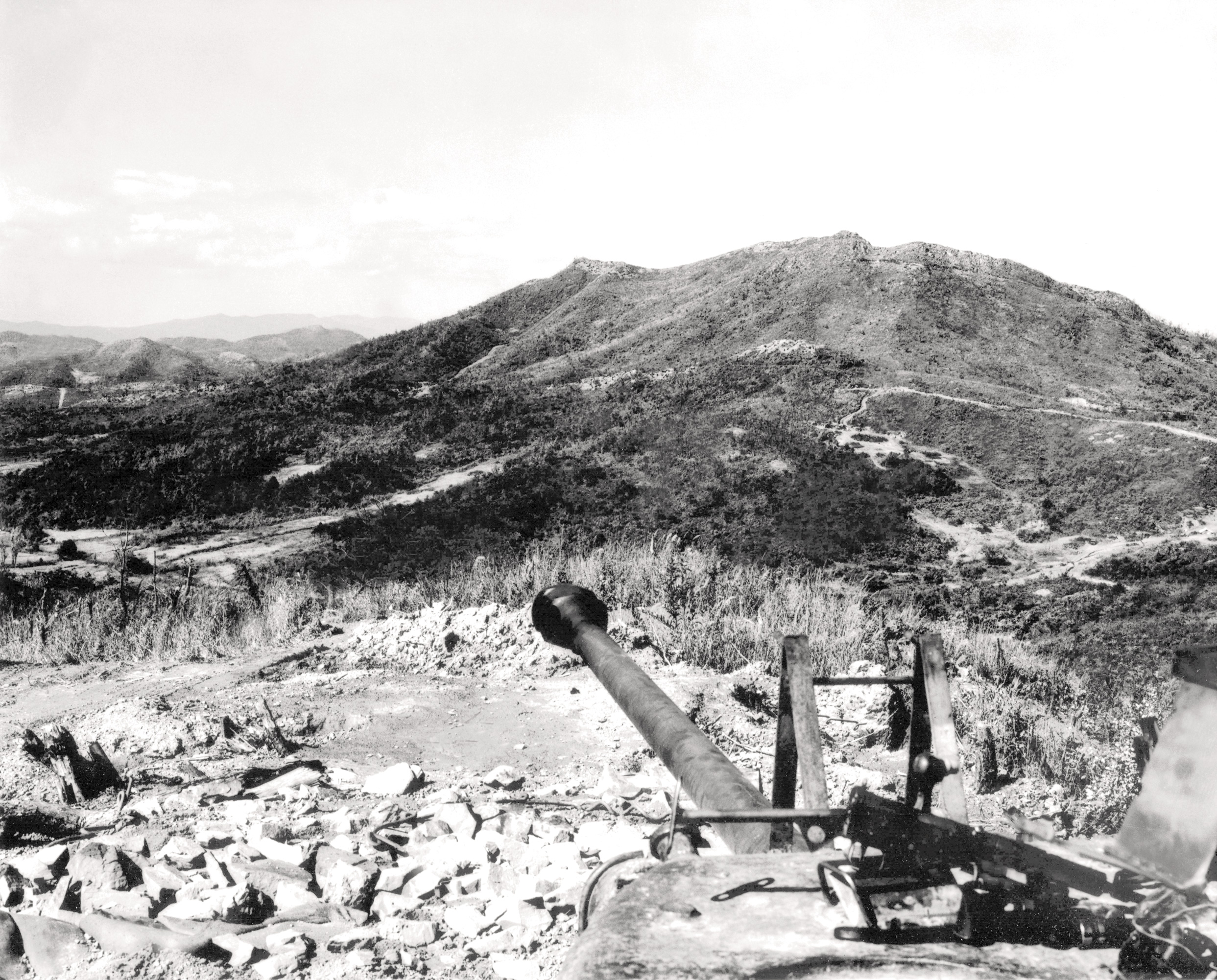 Historic Korean War Photo – Korean Landscape