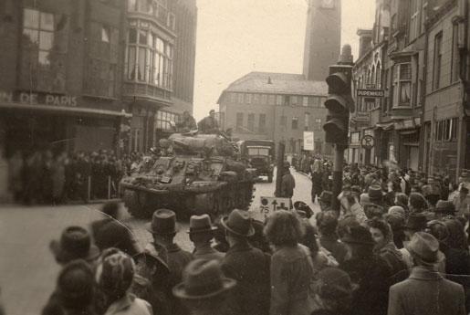 Celebration in Apeldoorn, Holland