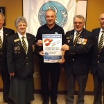 Legion Wellington donates to lobster supper