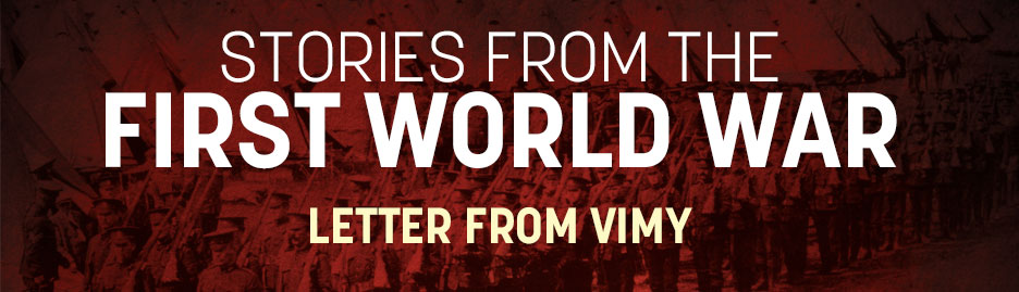WWI-Letter-From-Vimy