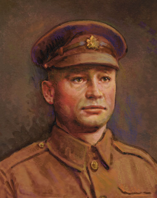 Harry Brown, VC [Sharif Tarabay]