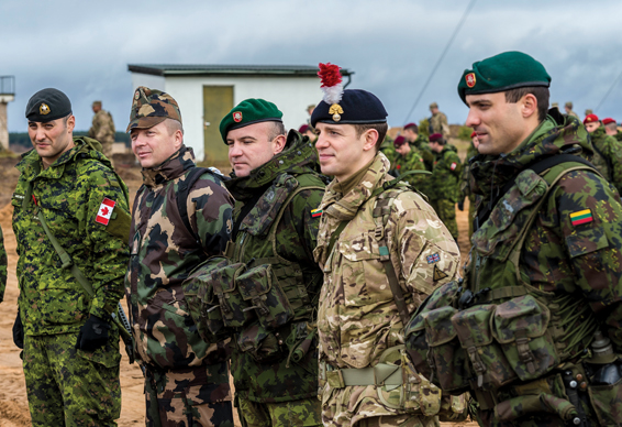 NATO's show of force