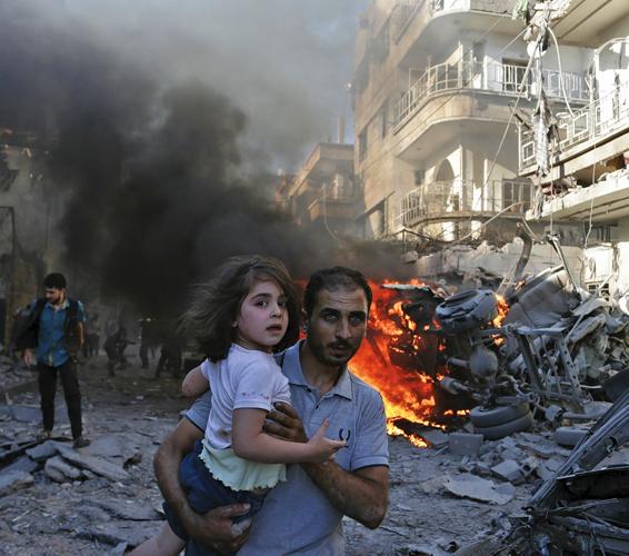 Watching Syria die