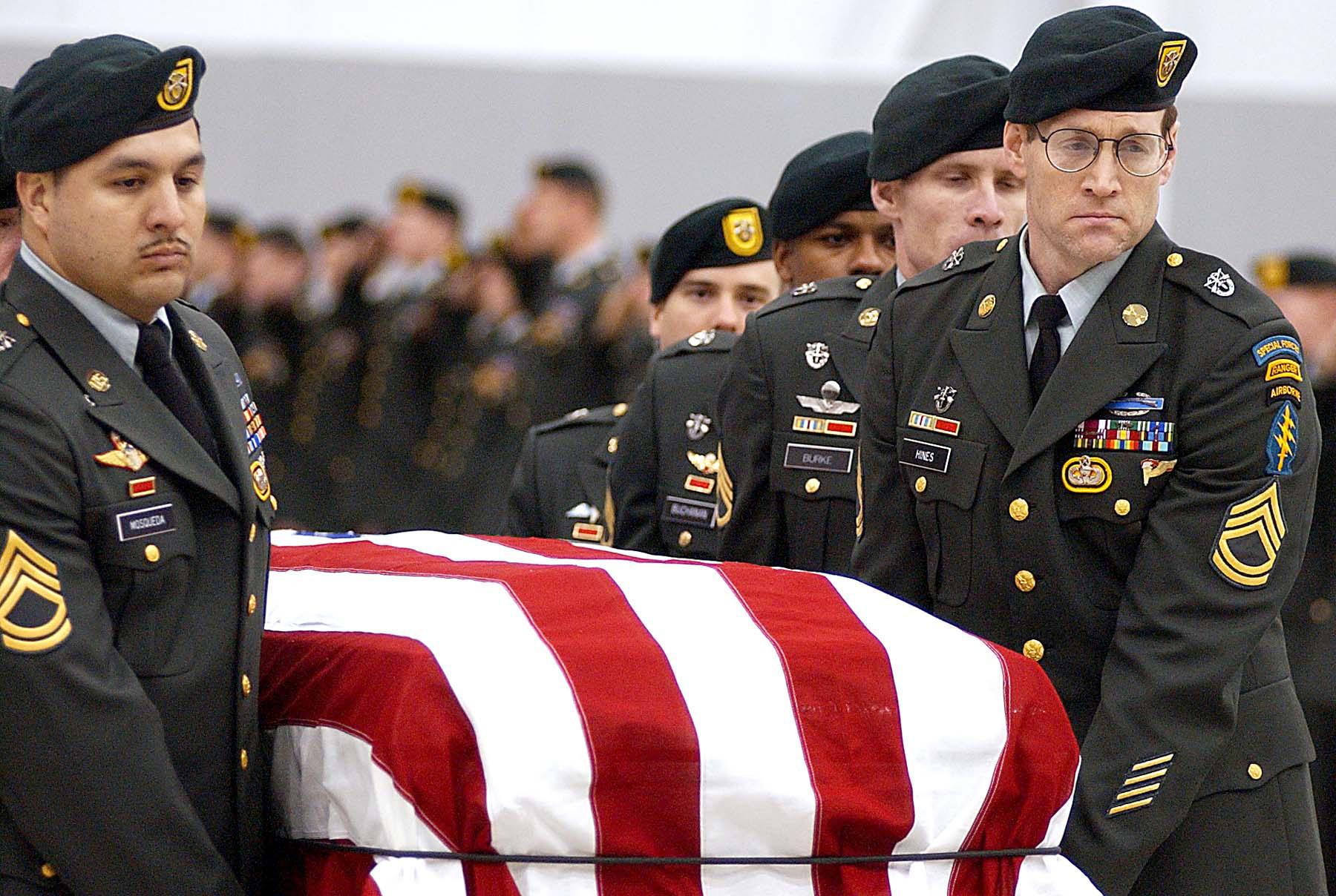 The U.S.'s secret Afghanistan casualty