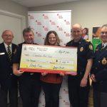 Kingston Br 30 donates to Red Cross 2016