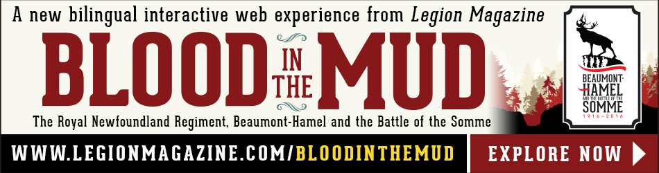 Blood in the mud banner ad EN