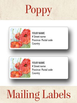 Poppy Mailing Labels V2 thumbnails