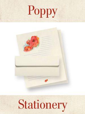 Poppy Stationery Thumbnail