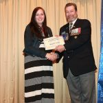 Royal Canadian Legion Br 293 Howe-Tassie Memorial Scholarship  Presented by Tim Murphy to Madisen Forbes
