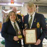 Havelock, Ont., presents legionaire of year