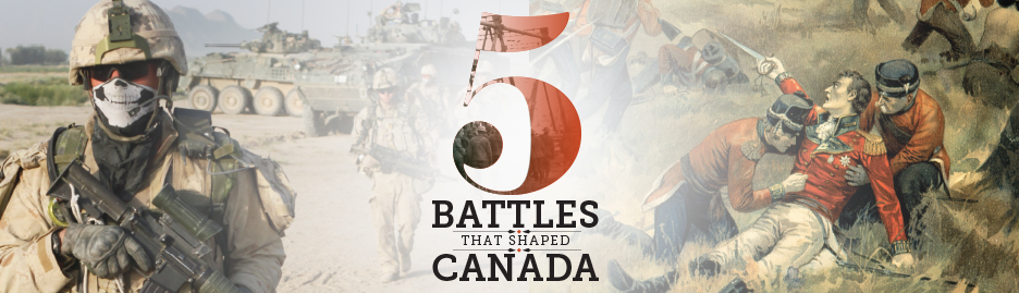 Five battles that shaped Canada